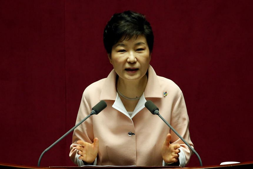 South Korean President Park Geun Hye criticised North Korea after Pyongyang launched what appeared to be an intermediate-range missile on June 22, 2016.