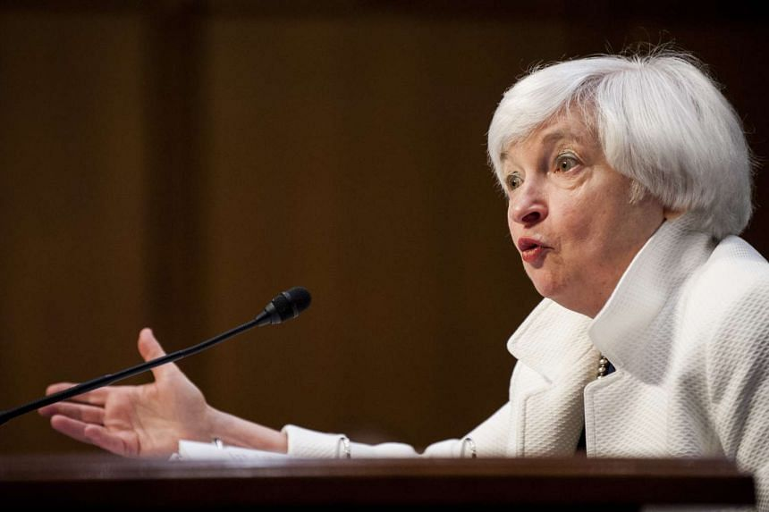 Janet Yellen, chair of the US Federal Reserve, testifies during a Senate Banking Committee hearing in Washington, DC, U.S., on June 21, 2016.