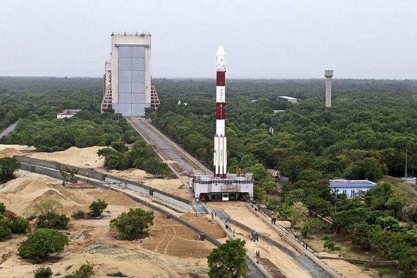 PSLV-C34, carrying 20 satellites in a single payload including the Cartosat-2 series satellite and 19 co-passenger satellites.