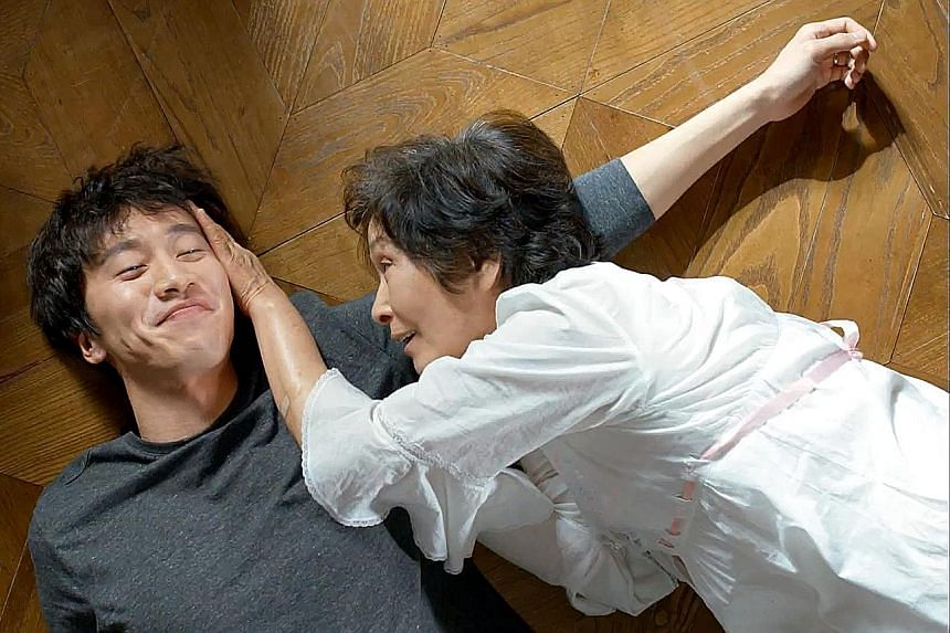 K-drama Dear My Friends' on-screen son and mother played by Lee Kwang Soo (left) and Kim Hye Ja.