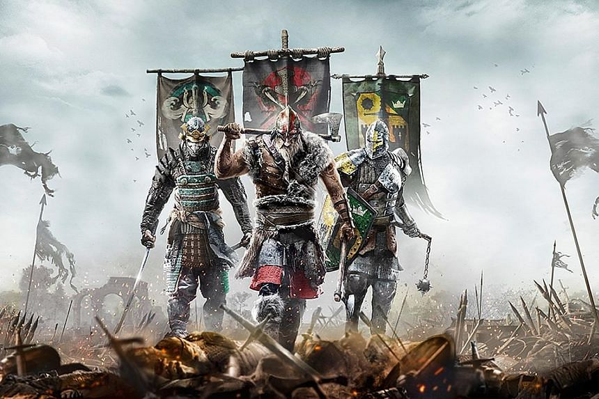Vikings, Knights and Samurais are pitted against each other in For Honor.