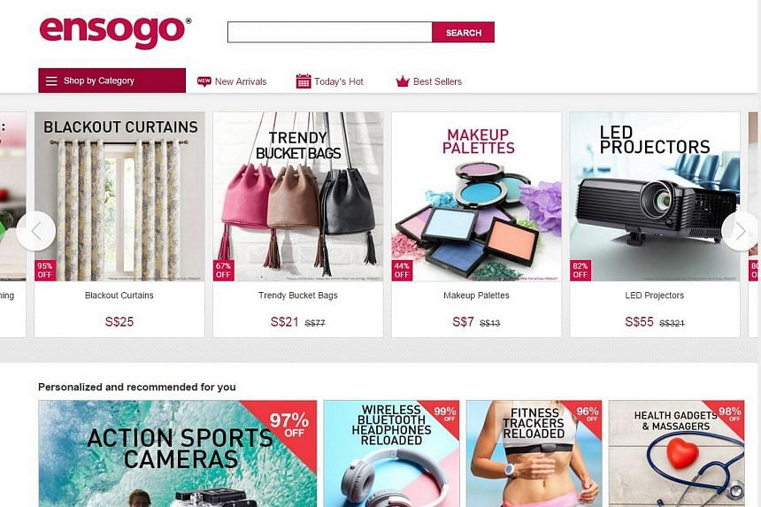Online retailer Ensogo has abruptly closed its Singapore operations after its Australian unit hit massive problems back home.