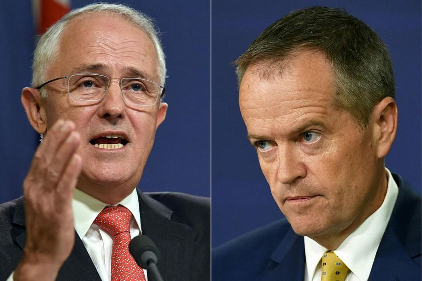 Australian Prime Minister Malcolm Turnbull (left) and opposition leader Bill Shorten have presented vastly different economic visions ahead of a federal election.