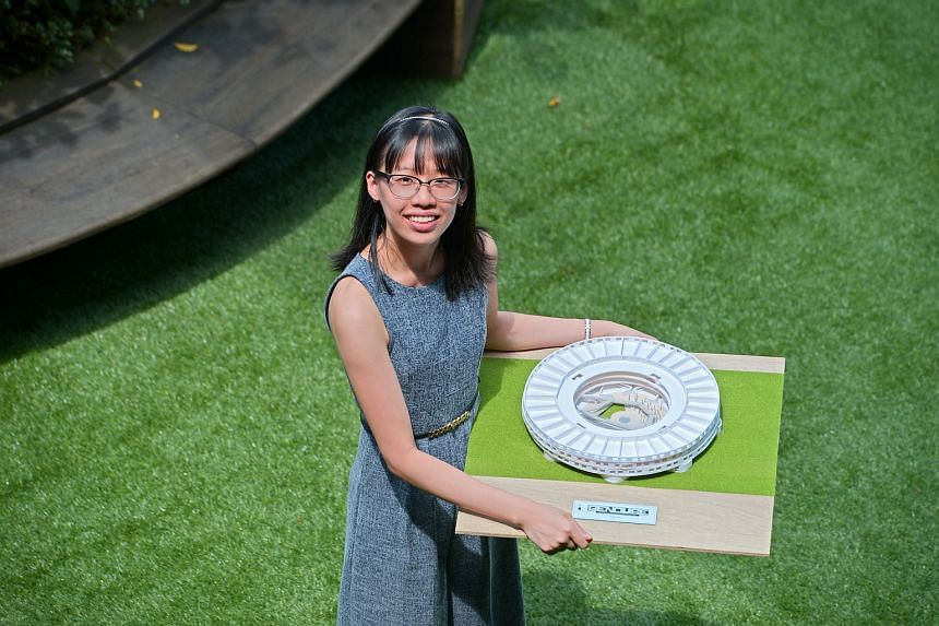 Ms Chia's O-level results would not have got her into Nanyang Poly if not for the direct admissions route. She went on to graduate with a GPA of 3.82 and earned a place in the National University of Singapore.