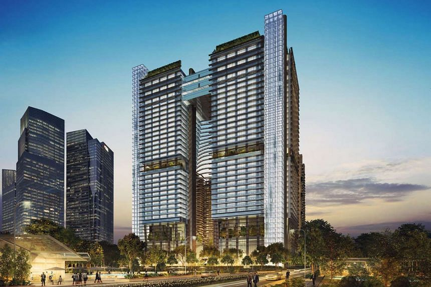 The huge project (above) by M+S, a joint venture between Malaysia's Khazanah Nasional and Singapore's Temasek Holdings, is set for completion next year - contrary to earlier market talk that it would be ready in the second half of this year.