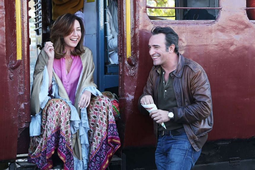 The dialogue between the leads played by Elsa Zylberstein and Jean Dujardin does not spark much interest.