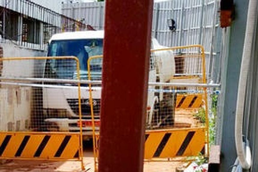 Mr Chun Kum Soon died after his truck rolled forward and pinned him against a wall at a Sengkang construction site.