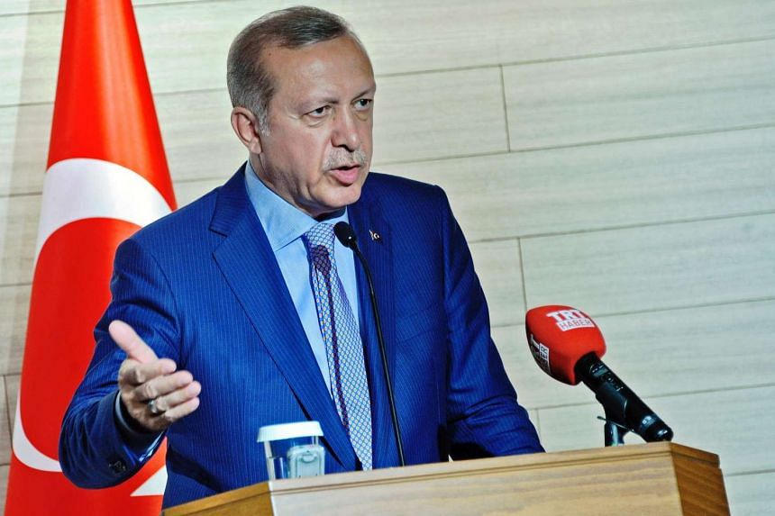 Turkish President Recep Tayyip Erdogan has suggested Turkey could hold a referendum over whether to continue its accession process to join the European Union.