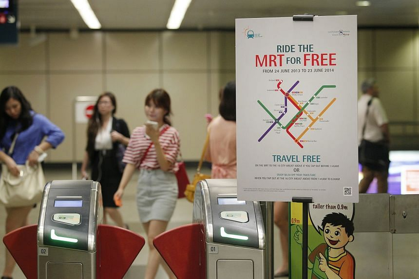 Free early morning train rides to MRT stations in the city area before 7.45am on weekdays have been extended till June 30, 2017.