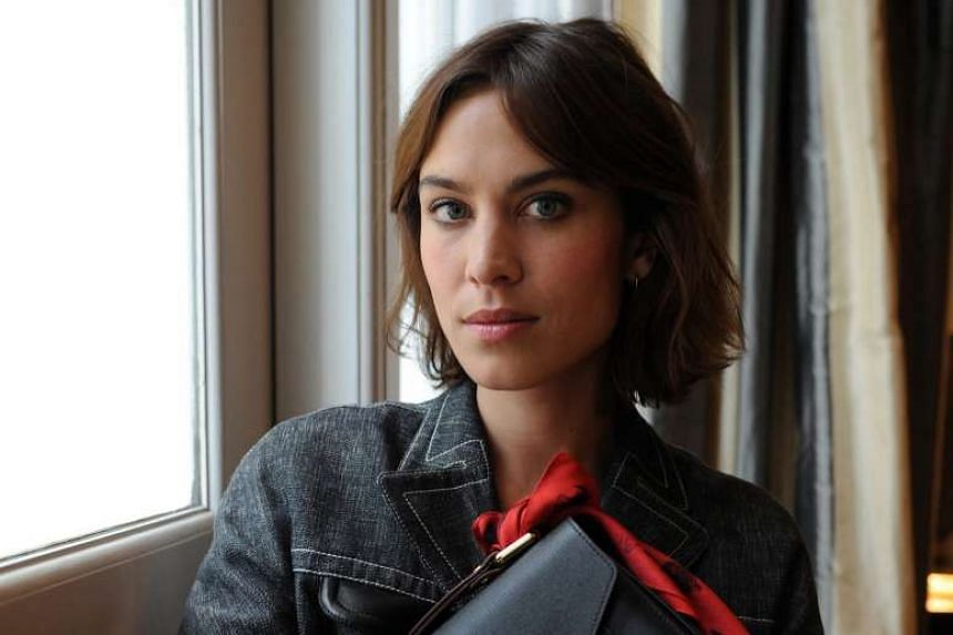 Alexa Chung is in Singapore for the new Longchamp boutique opening at Marina Bay Sands.