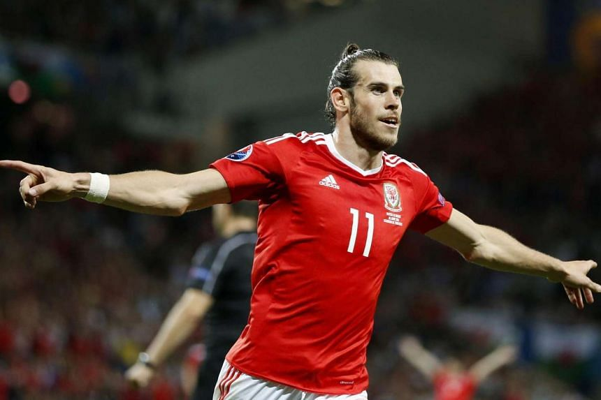 Gareth Bale of Wales during the Euro 2016 group B preliminary round match between Russia and Wales at Stade Municipal in Toulouse on June 20, 2016.