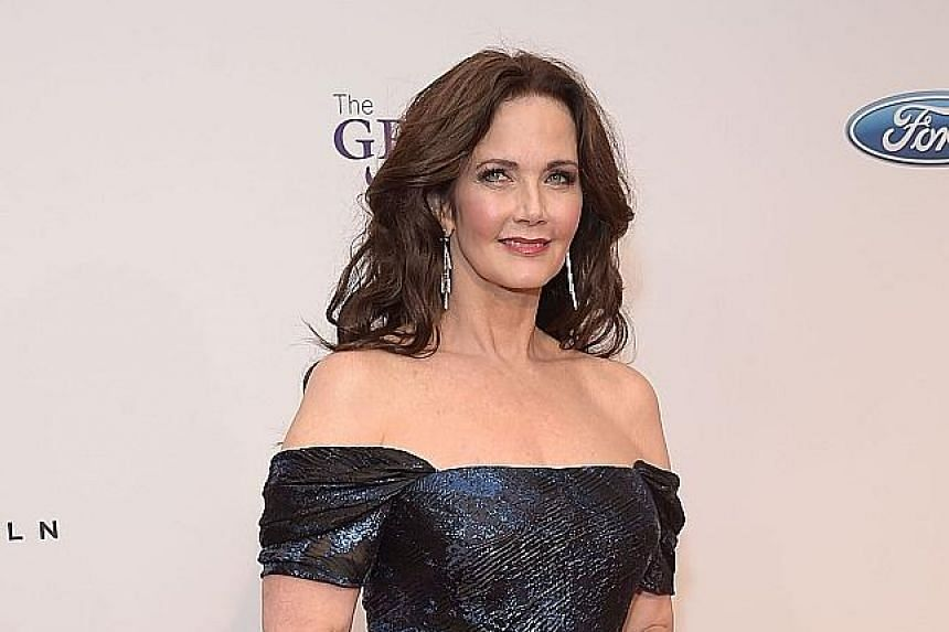 Lynda Carter starred in TV's Wonder Woman from 1975 to 1979.