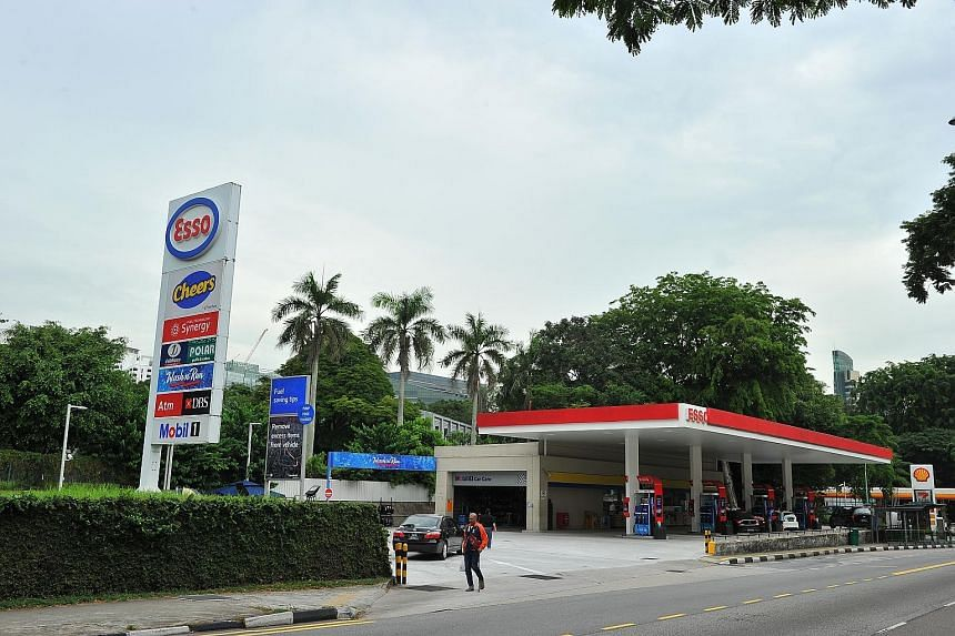 Private transport costs fell by 7.6 per cent, driven by lower petrol prices. MAS said core inflation could pick up gradually with some recovery in oil prices.