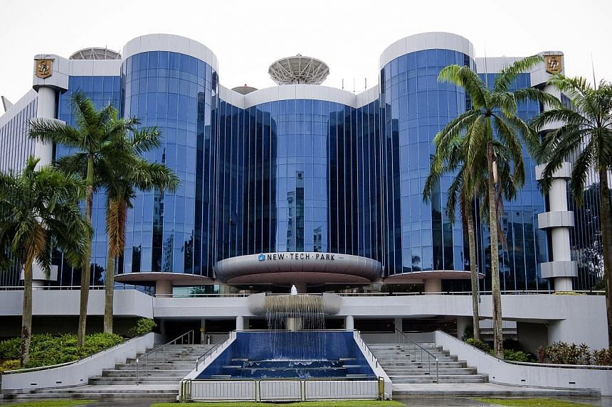 New Tech Park, one of the properties held by Sabana Shari'ah Compliant Industrial Reit. The Reit asked for the rating to be withdrawn.