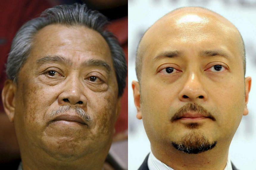 Malaysia's Umno has expelled former deputy prime minister Muhyiddin Yassin (left) and former Kedah chief minister Mukhriz Mahathir, according to news reports.
