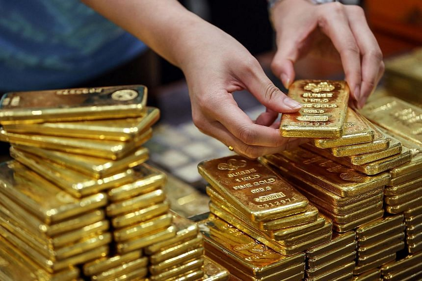The price of gold has shot up, even as stock markets are on a roller coaster ride.