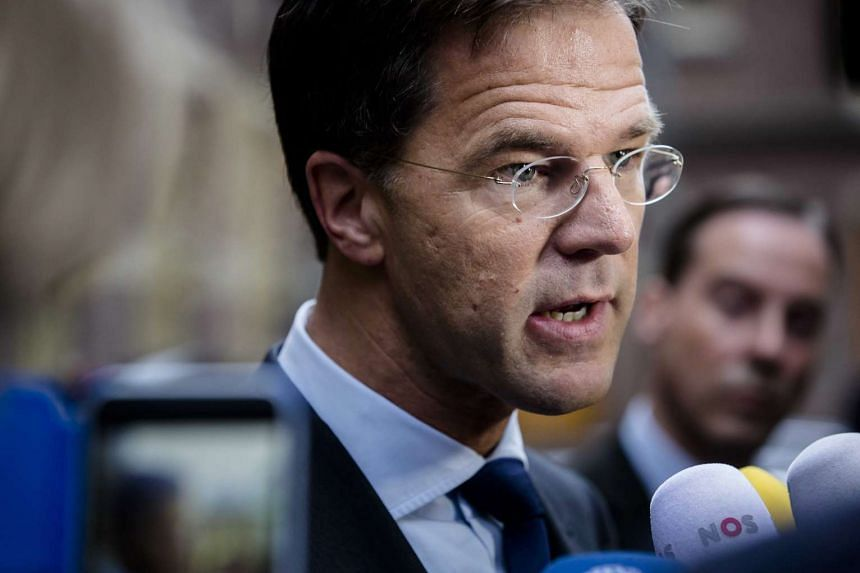Dutch Prime Minister Mark Rutte speaks to reporters in The Hague, The Netherlands, on June 24, 2016.