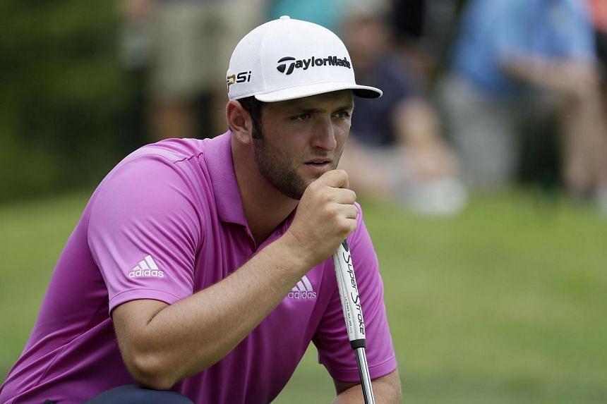 Spanish golfer Jon Rahm.