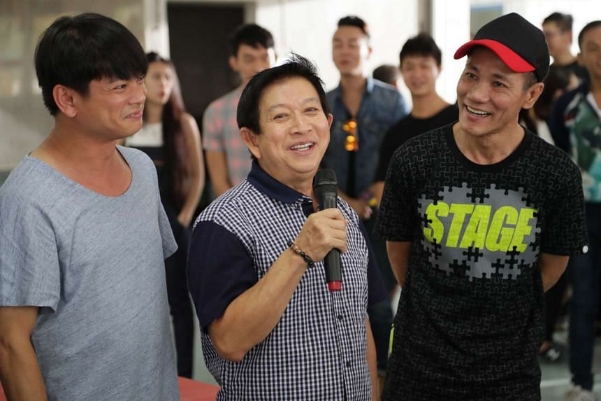(From left) Dennis Chew, Henry Thia and Wang Lei star in the film Take 2, directed by first-timer Ivan Ho