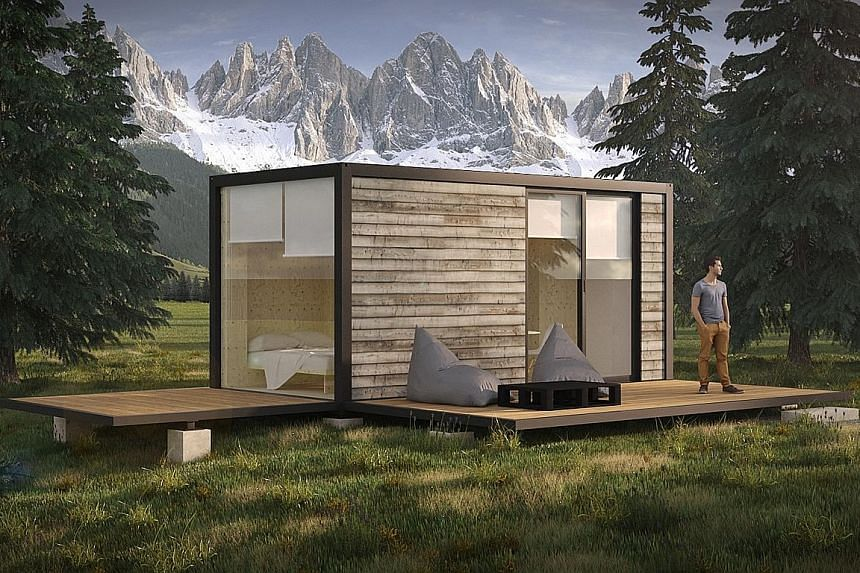 ECOnomad ecological campsites are designed for those who are seeking a new way of living away from large towns and cities.