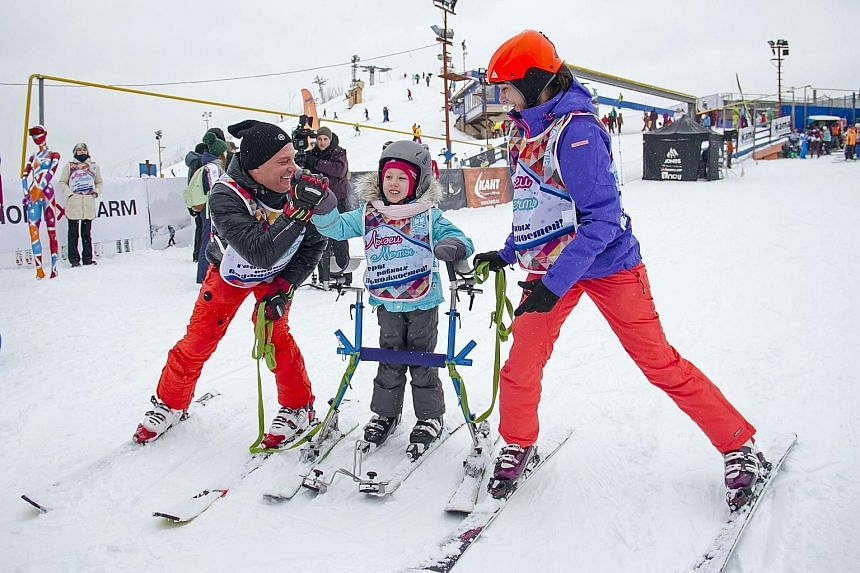 Ski Dreams provides skiing lessons as a form of rehabilitation for adults and children with physical and mental disabilities.