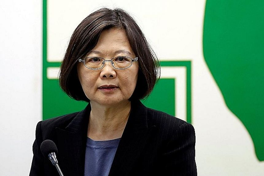 TAIWANESE PRESIDENT TSAI ING-WEN , warning that the pension system will go bankrupt if nothing is done now.