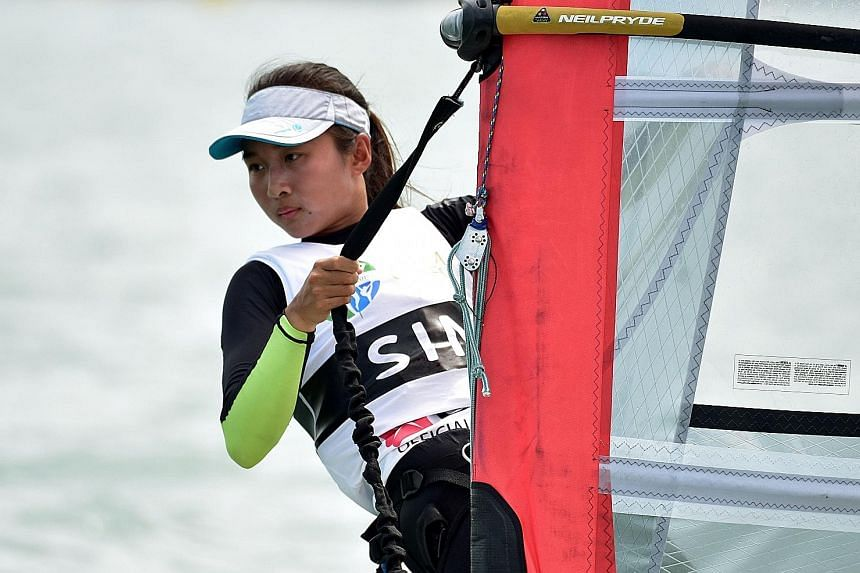 Audrey Yong has received an unused quota place to compete in the Olympics in Rio de Janeiro. She will be the Republic's first woman windsurfer to compete at the quadrennial Games.