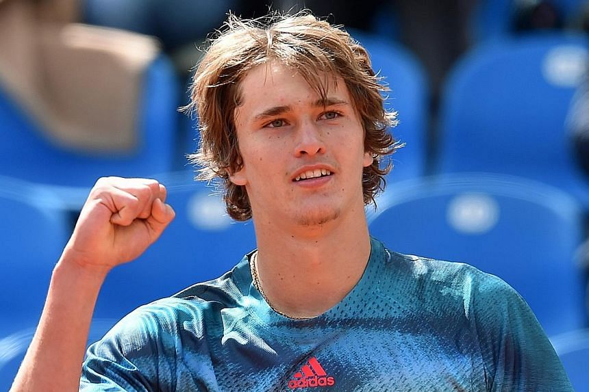 Alexander Zverev has defeated Roger Federer and received praise from Andy Murray and Rafael Nadal.
