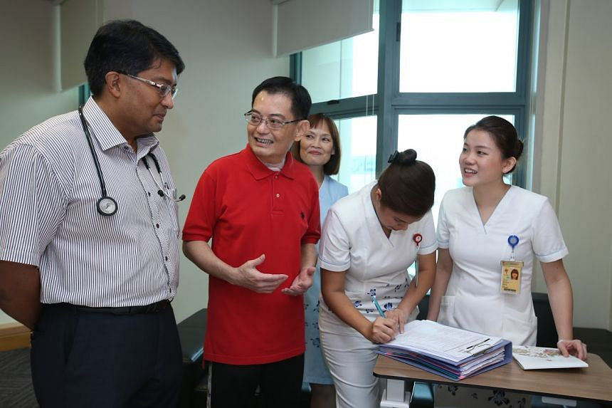 In the statement, Mr Heng thanked the doctors, nurses, and staff of Tan Tock Seng Hospital and the National Neuroscience Institute for their care.