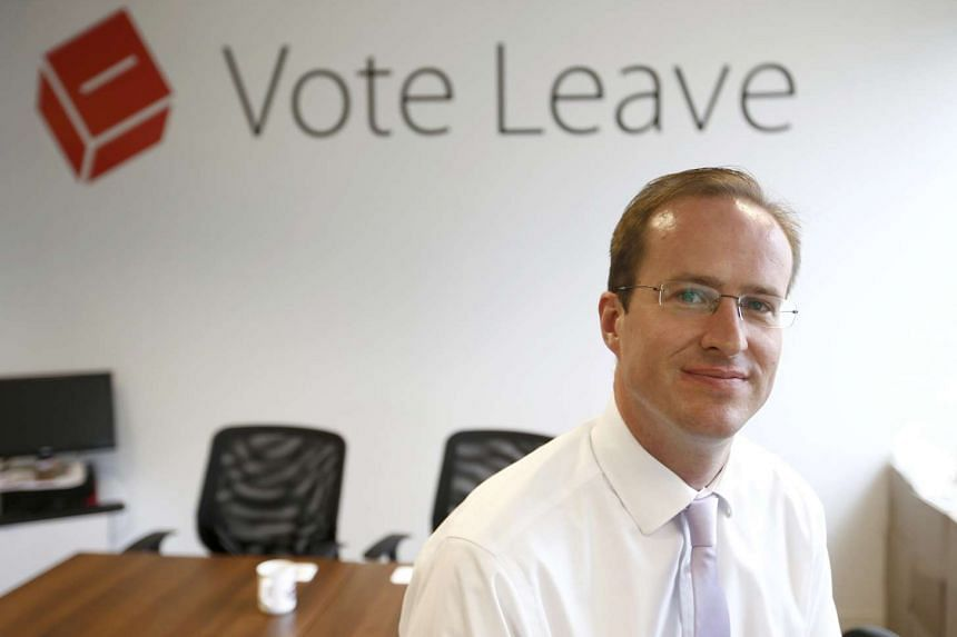 Matthew Elliott at the Vote Leave campaign headquarters in London, on May 19, 2016.