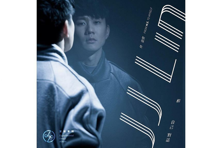 """The cover of JJ Lin's 12th album """"From M.E. To Myself""""."""