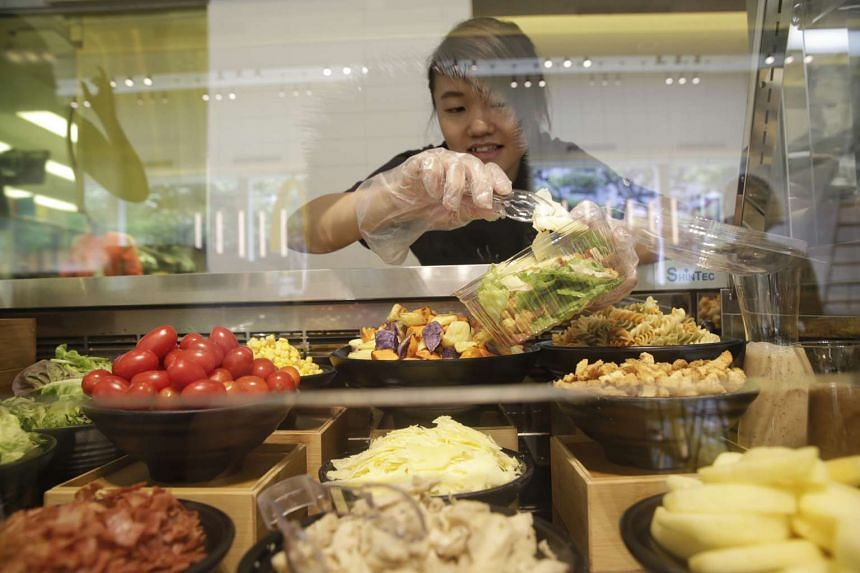 McDonald's Marine Cove, which opens on July 2, offers new food items as well as a salad bar and dessert bar.