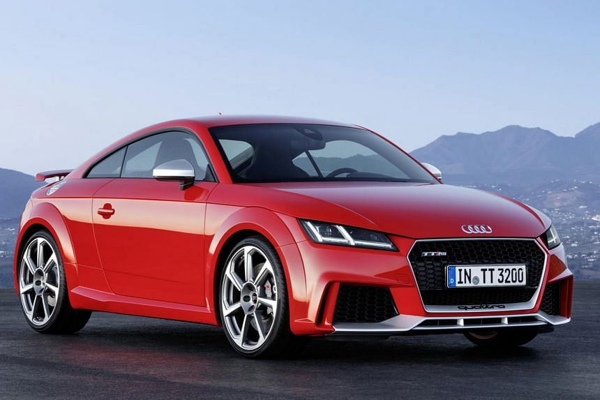 TT RS Coupe.