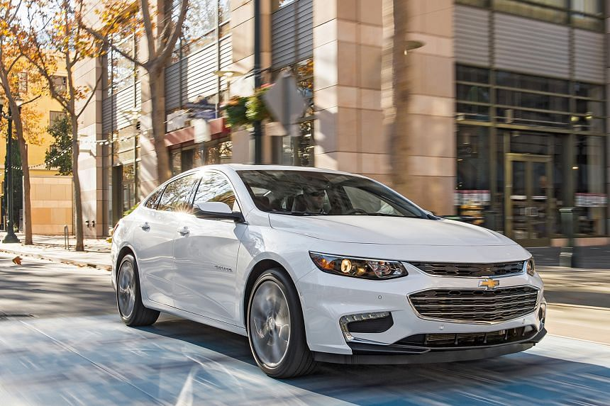 The new Chevrolet Malibu is more powerful than its predecessor.