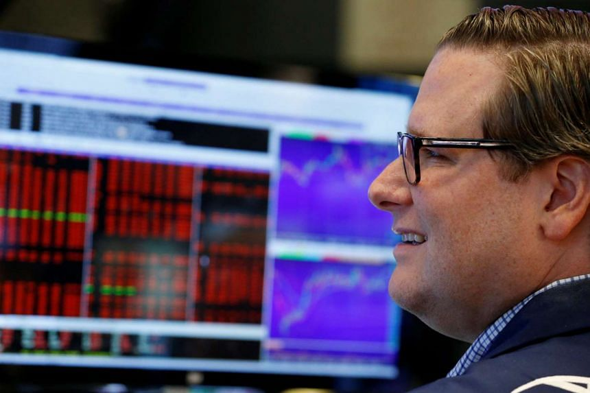 A trader works on the floor of the New York Stock Exchange on June 24, 2016