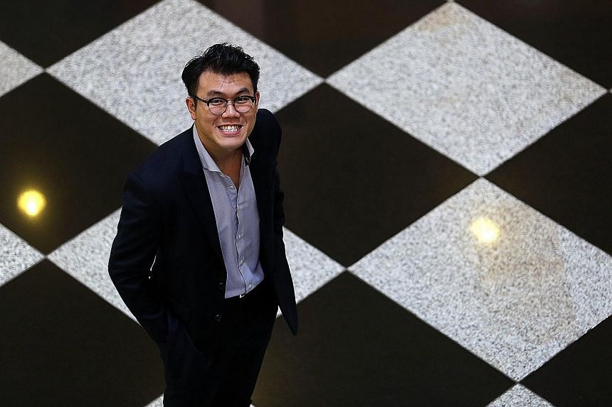 """Mr Lim Ding Jun, 26, believes strongly that it's not where you come from that shapes you. """"It boils down to our personal choices... and our discipline to stay committed to those choices,"""" he says."""
