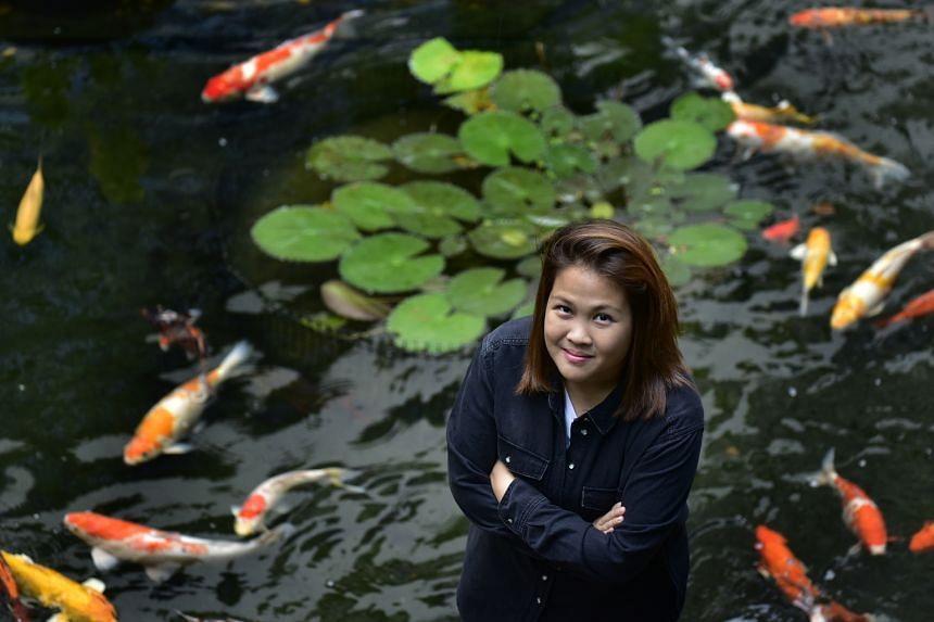 Miss Rebekah Lin, 31, daughter of ex-minister Lim Hwee Hua and Tembusu Partners founder Andy Lim, manages Jia Foundation.