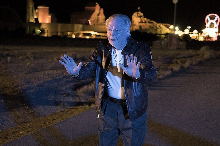 In the new fourth season, Ray Donovan (played by Liev Schreiber) tries to reconnect with his ex-convict father, Mickey (Jon Voight, above).
