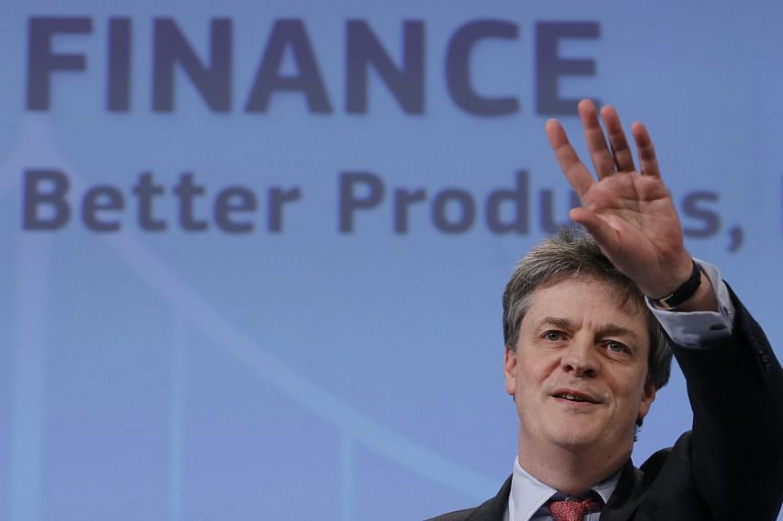 Photo taken in 2015 shows European Commissioner in charge of financial stability, financial services and capital markets union, Jonathan Hill.