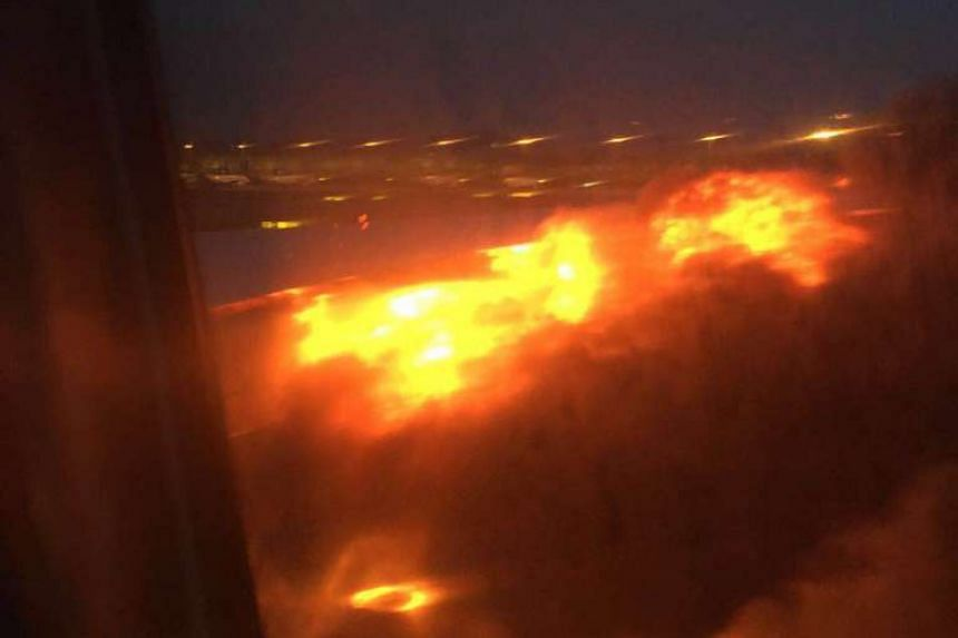 Singapore Airlines plane, SQ368, caught fire on the runway at Changi Airport on Monday (June 27) morning, after it was forced to return to Singapore due to a fuel leak. Shortly after landing, the plane's right wing caught fire.