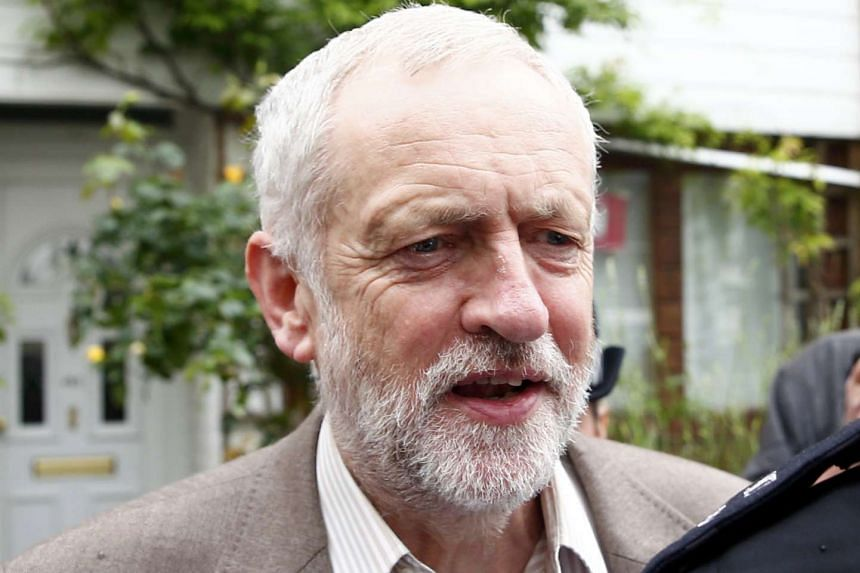 Jeremy Corbyn, leader of Britain's opposition Labour party, leaves his home in London, on June 27, 2016.