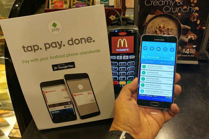 Android Pay supports Visa and MasterCard credit or debit cards issued by POSB, DBS Bank, OCBC Bank, United Overseas Bank (UOB) and Standard Chartered Bank.