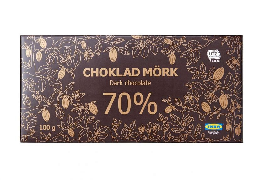"Ikea's Choklad Mork 70% or dark chocolate was recalled due to ""insufficient information"" on its packaging."