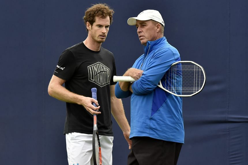 Perhaps one of the biggest things that Lendl helped Murray (left) with when he first coached the Scot was the ability to return to focus when he got distracted.