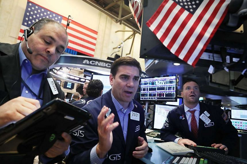 Traders working at the New York Stock Exchange following news that Britain had voted to leave the European Union on June 24, 2016.