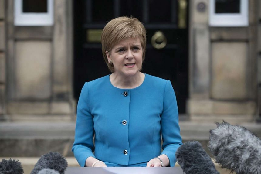 Scottish First Minister Nicola Sturgeon said she would be meeting with EU leaders in Brussels to discuss how Scotland could remain part of the bloc.