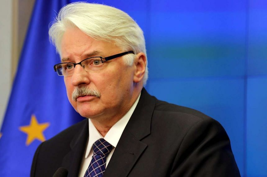 Poland's Foreign Minister Witold Waszczykowski attends a news conference after the meeting of Foreign Ministry officials in Warsaw, Poland, on June 27, 2016.