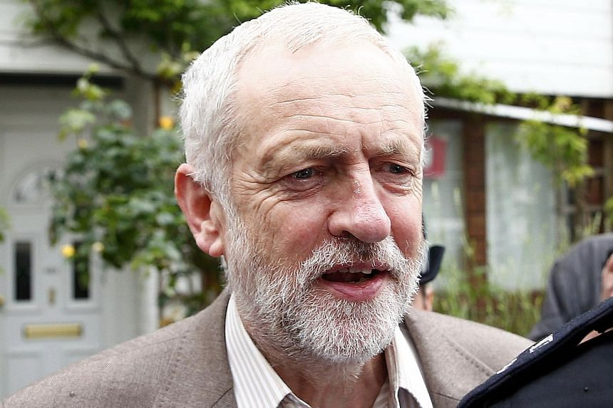Mr Corbyn's critics say he could have done more to persuade voters to back staying in the EU.