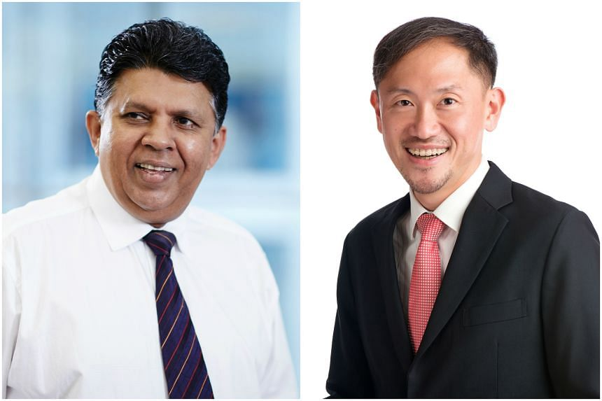 Mr Patrick Daniel (left) and Mr Anthony Tan will assume their new roles on Friday.