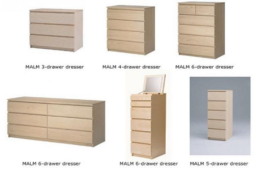 Ikea is recalling its popular Malm line of chest drawers over stability concerns, with six children having been killed in accidents over the past 13 years.